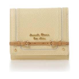 サマンサタバサプチチョイス ベルトデザインシリーズ 折財布(イエロー)