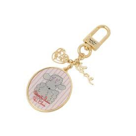 サマンサタバサプチチョイス Lara Collection ベルギーシリーズ バッグチャーム(ピンク)