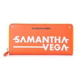 サマンサベガ SVプリント長財布(オレンジ)