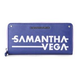 サマンサベガ SVプリント長財布(ネイビー)