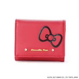 サマンサベガ ハローキティ 折財布(レッド)