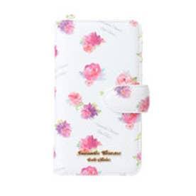 サマンサタバサプチチョイス フラワープリントシリーズ iPhone8ケース(ホワイト)