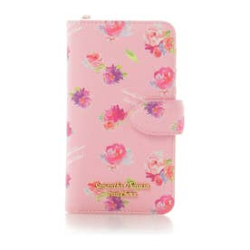 サマンサタバサプチチョイス フラワープリントシリーズ iPhone8ケース(ピンクベージュ)