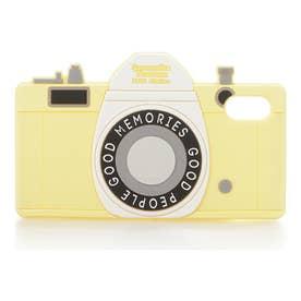 サマンサタバサプチチョイス シリコンケース(カメラ)iPhoneX(イエロー)