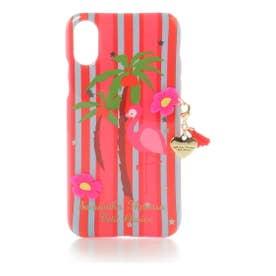 サマンサタバサプチチョイス フラミンゴiPhoneケース X(ピンク)