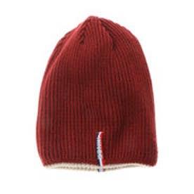 サマンサキングズ リバーシブルニット帽(ワインレッド)