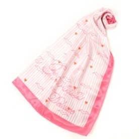 サマンサタバサデラックス カモメ柄スカーフ(ピンク)