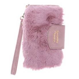 サマンサタバサ ファー iphoneケース 7(ピンク)