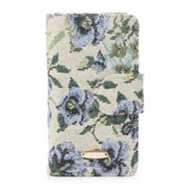 レディアゼル ゴブランiPhoneケース(iPhone6対応)(紺系花柄)