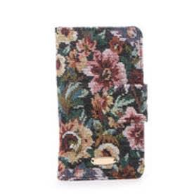 レディアゼル ゴブランiPhoneケース(iPhone6対応)(黒系花柄)