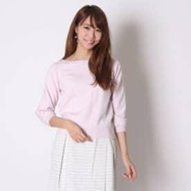 ウィルセレクション Ry/Nyソデレースプルオーバー(ピンク)