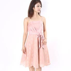 ウィルセレクション オーガンレースキャミドレス(ピンク)