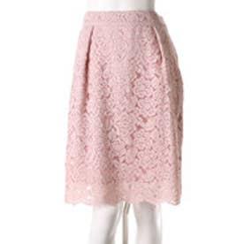 ウィルセレクション コードレーススカート(ピンク)