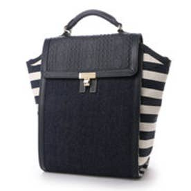 トミーヒルフィガー TOMMY HILFIGER TH LOCK INT BACKPACK (ネイビー)