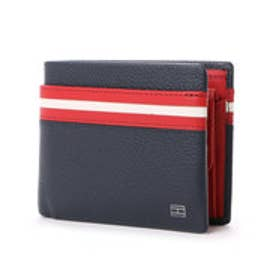 トミーヒルフィガー TOMMY HILFIGER INT HORIZON CC WALLET W/COIN POCKET (ブラック)