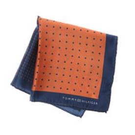 トミーヒルフィガー TOMMY HILFIGER Pocket Square PSQDSN16302 (オレンジ)