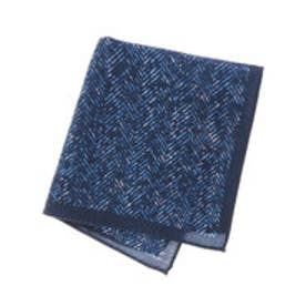 トミーヒルフィガー TOMMY HILFIGER Pocket Square PSQDSN16304 (ブルー)