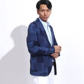 トミーヒルフィガー TOMMY HILFIGER JS BILLY PATCHWORK SPORTCOAT (ブルー)