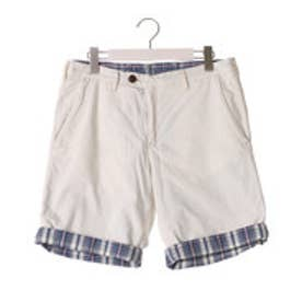 トミーヒルフィガー TOMMY HILFIGER AJ DENTON REVERSIBLE INDIGO SHORT (ホワイト)
