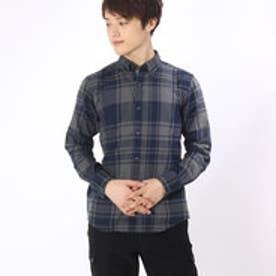 トミーヒルフィガー TOMMY HILFIGER チェックシャツ (グレー)