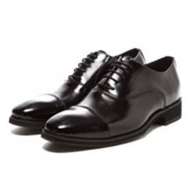 クリスチャン カラノ Christian Carano 幅広ビジネスシューズ(ブラック)