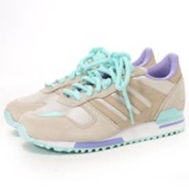 アディダス オリジナルス adidas Originals atmos ZX 700 W AC(BEIGE/PURPLE/LIGHT BLUE)