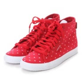 アディダス オリジナルス adidas Originals atomos HONEY MID Flock (SCARLET/WHITE)