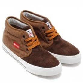 チャムス CHUMS atmos Sweat Chukka Chukka atmos別注(Hbrown/Brown)