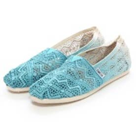 トムズ TOMS CHAPTER WOMENS-SEASONAL CLASSICS(Baltic Dip-Dyed Crochet)