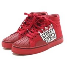 ビジョン ストリート ウェア VISION STREET WEAR CHAPTER BIG LOGO PRINT(RED)