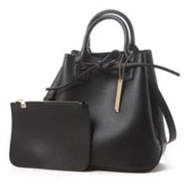 オデット エ オディール バッグ Odette e Odile bag L&O DoubleFaceショルダー (ブラック)