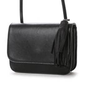 オデット エ オディール バッグ Odette e Odile bag Ls タッセルminiショルダー (ブラック)