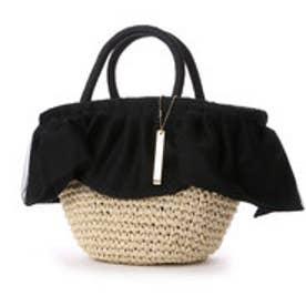 オデット エ オディール バッグ Odette e Odile bag L&O Wドレープバスケット (ブラック)