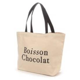 Boisson Chocolat ボワソンショコラ B ロゴトートM(ナチュラル)