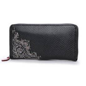 アルセラピィ artherapie グラヴェパイソン ラウンドジップ長財布 (ブラック)