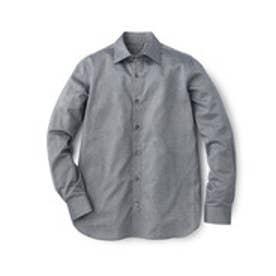 フォーティーカラッツアンドゴーニーゴ 40CARATS&525 セミワイドカラー シャツ (ネイビー)