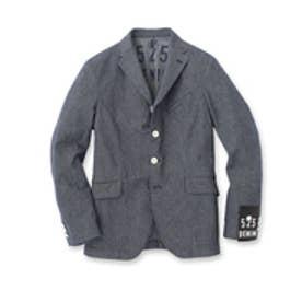 フォーティーカラッツアンドゴーニーゴ 40CARATS&525 10ozストライプデニムジャケット (ブルー系)