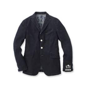 フォーティーカラッツアンドゴーニーゴ 40CARATS&525 ライトデニム ストレッチ ジャケット (ブルー系)