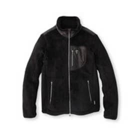 アダバット adabat ボアスタンドカラージャケット (ブラック)