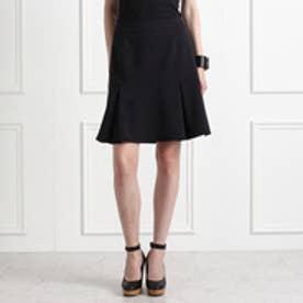 アクアガール aquagirl ヘムタックフレアスカート (ブラック)