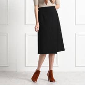 アクアガール aquagirl ロングラップスカート (ブラック)