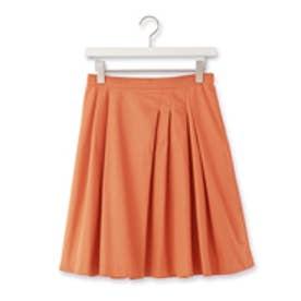 クチュール ブローチ Couture brooch アシンメトリータックブロードスカート (レンガ)