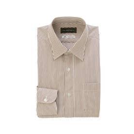 クール ストラティン COOL STRUTTIN'&co. THOMAS MASON ストライプドレスシャツ (ベージュ系)