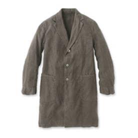 ドレステリア DRESSTERIOR Violet Buffalo Wallows リネンキャンバスコート (チャコールグレー)