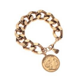 ラ ヴォーリ LA VORI YOCHI チェーン×1COIN ブレス (ゴールド)