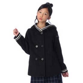 オリンカリ OLLINKARI 起毛フーデッドコート (ブラック)