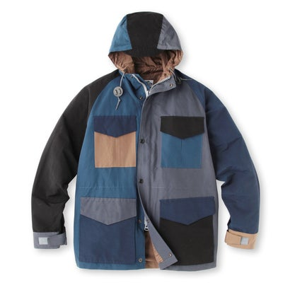 Rugged Factory Crazy Pattern Hooded Jacket 387-57003