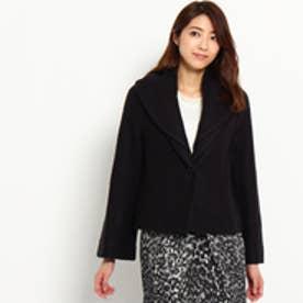 スーナウーナ SunaUna 重ね襟デザインジャケット (ネイビー)