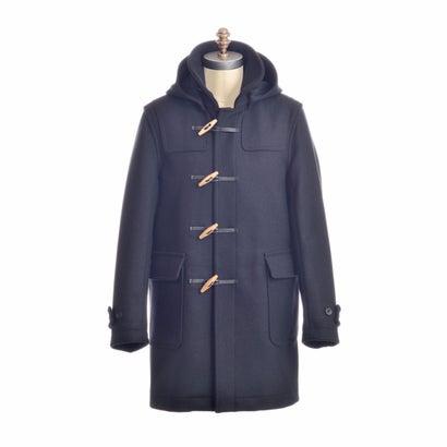 Montgomery Duffle Coat: Black