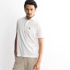 タケオ キクチ TAKEO KIKUCHI アーガイルポロシャツ (ホワイト)